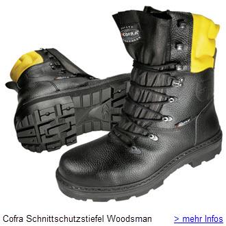Cofra Schnittschutzstiefel Woodsman Forstarbeiter Sicherheitsstiefel