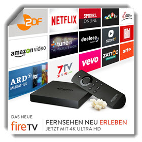 Amazon fire TV Angebot